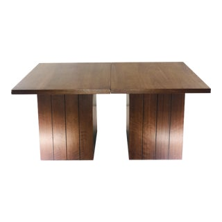 1970s Mid-Century Modern Lane Minimalist Side Tables - a Pair For Sale