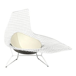 "Modern Harry Bertoia for Knoll ""Bertoia Asymmetric"" Chaise For Sale"