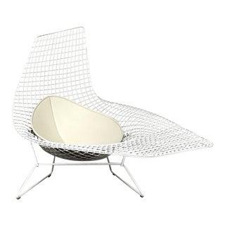 "Modern Harry Bertoia for Knoll ""Bertoia Asymmetric"" Chaise For Sale"