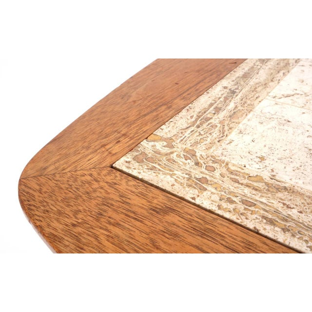Mid-Century Modern Rare Early Original George Nelson Swag Leg Side Table For Sale - Image 3 of 7