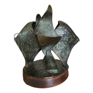 Vintage Mid-Century Bronze Sculpture For Sale