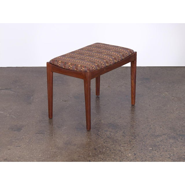 American American Modern Walnut Bench For Sale - Image 3 of 7