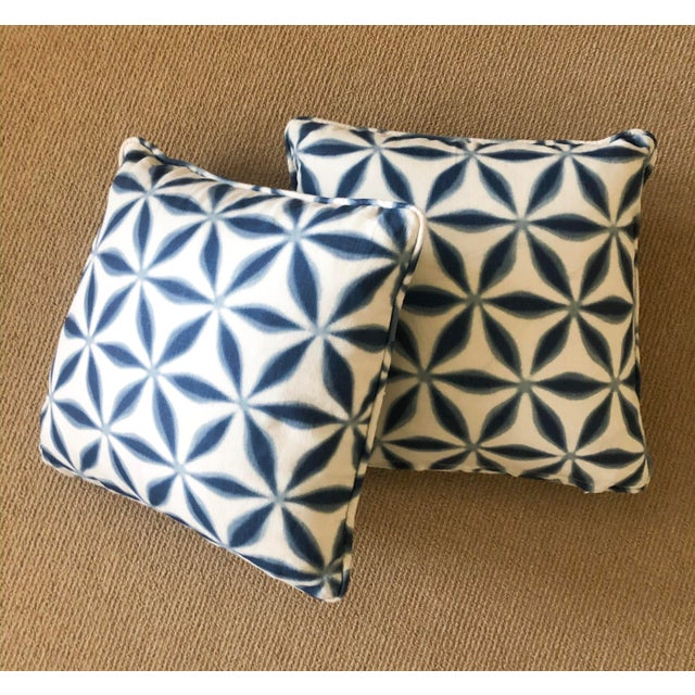 Jasper Throw Pillows - a Pair For Sale - Image 4 of 4