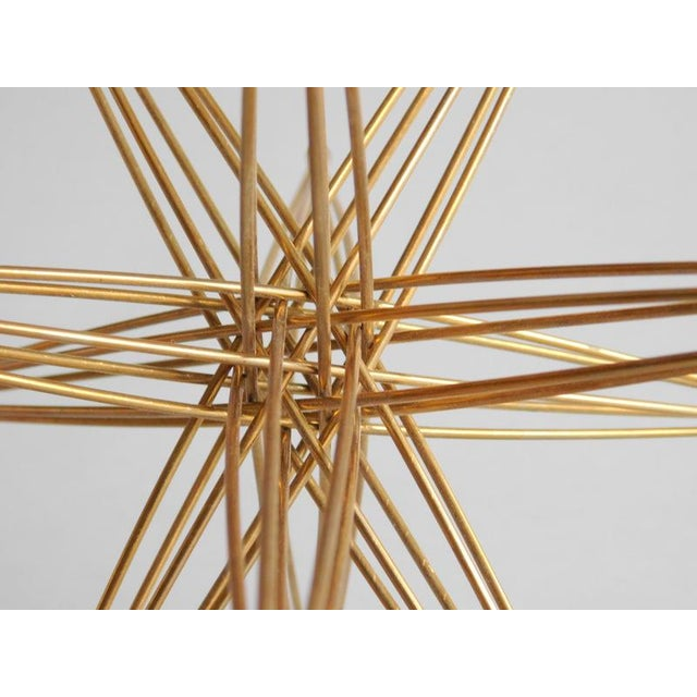 Mid-Century Modern Vintage Wire Folding Kostick Stars - a Pair For Sale - Image 3 of 6