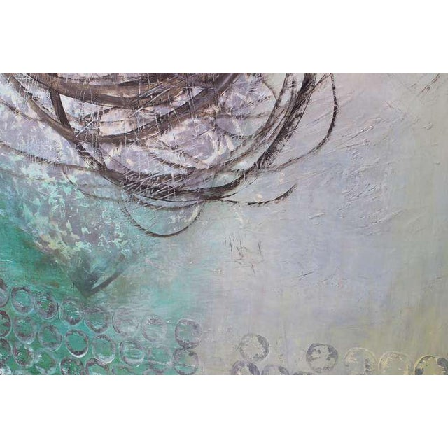"""Sheila White Sheila White """"Infection"""" Painting For Sale - Image 4 of 5"""