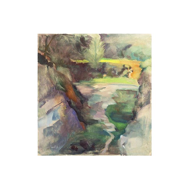 'Springtime River', by Whitman Loftus, 1987 For Sale