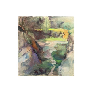Springtime River, Whitman Loftus, 1987 For Sale