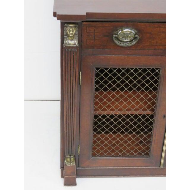 Antique 19th C. Regency Style 2-Door Cabinet - Image 3 of 6