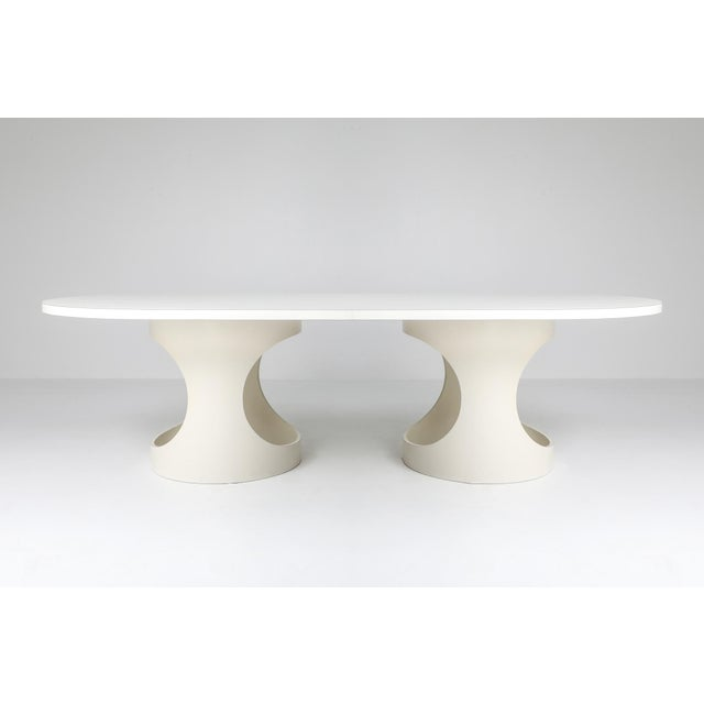 Wood Arne Jacobsen Pre Pop Dining Table for Asko - 1969 For Sale - Image 7 of 12