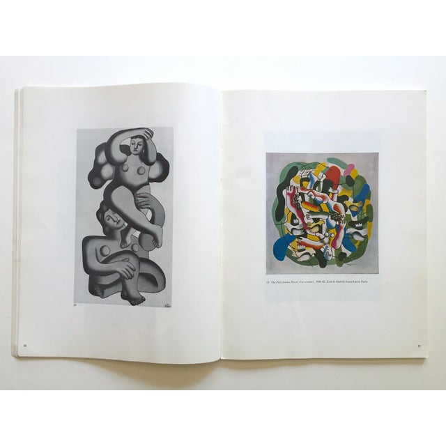 """1960s Fernand Leger Rare Vtg 1962 Lmtd Edtn """" Five Themes & Variations """" Guggenheim Museum Exhibition Catalogue Collector's Art Book For Sale - Image 5 of 13"""