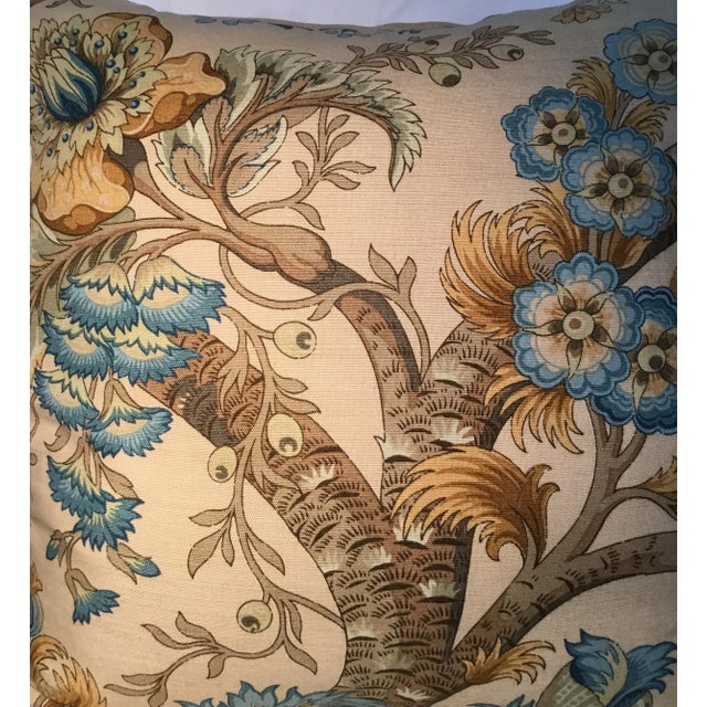 Traditional Ralph Lauren Pillow - Tree of Life Design - Pair Available For Sale - Image 3 of 13