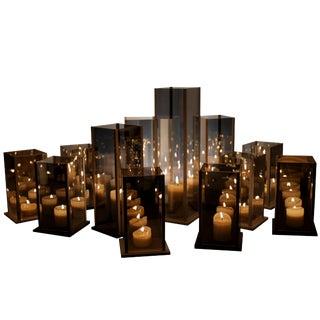 Original 12 Candleholders Set, Kaleido, Arturo Erbsman For Sale
