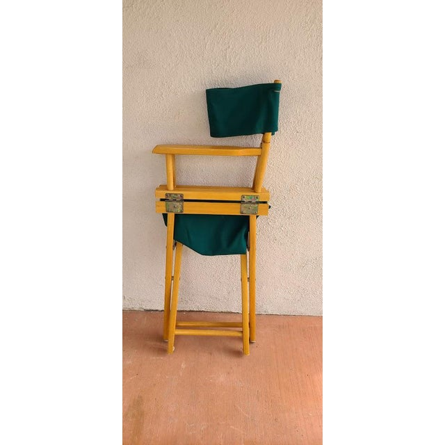 Late 20th Century Late 20th Century Director's Chair For Sale - Image 5 of 11