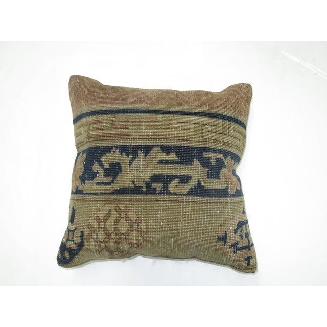 Peking Chinese Rug Pillow - Image 2 of 3