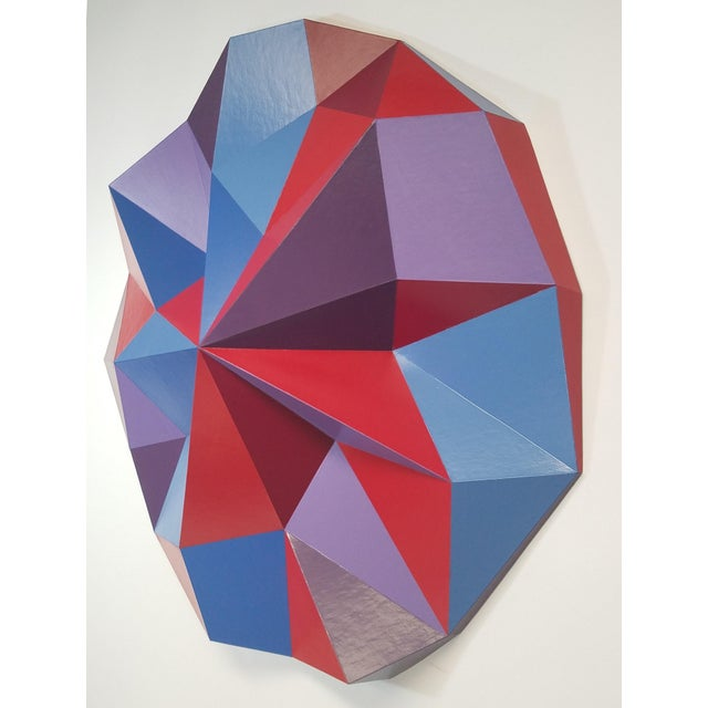 Abstract Sassoon Kosian Righteous War Wall Sculpture For Sale - Image 3 of 5