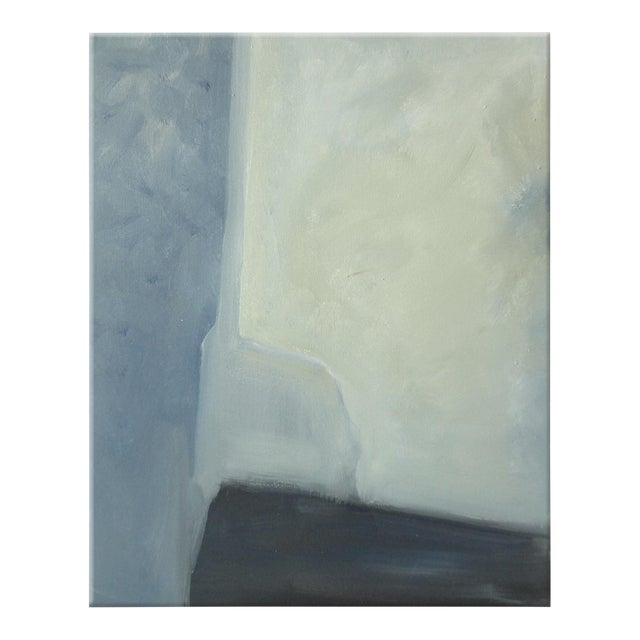 Abstract Plane & Corners Abstract Painting - Image 1 of 4