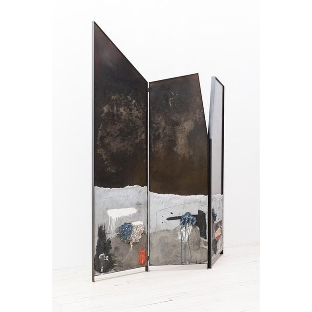 Stefan Rurak's Screen Triptych typifies his unique approach to design, blurring distinction between art and design, into a...