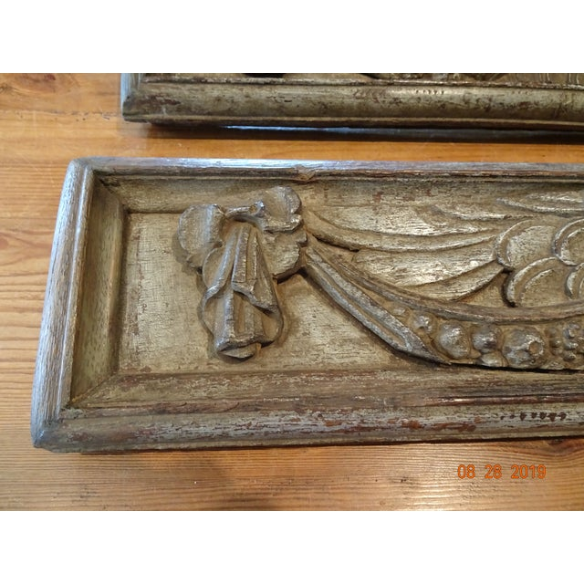 Late 18th Century Pair of 18th Century Italian Architectural Panels For Sale - Image 5 of 13