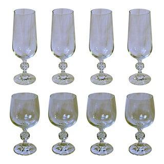 Bohemia Crystal Glasses - Set of 8