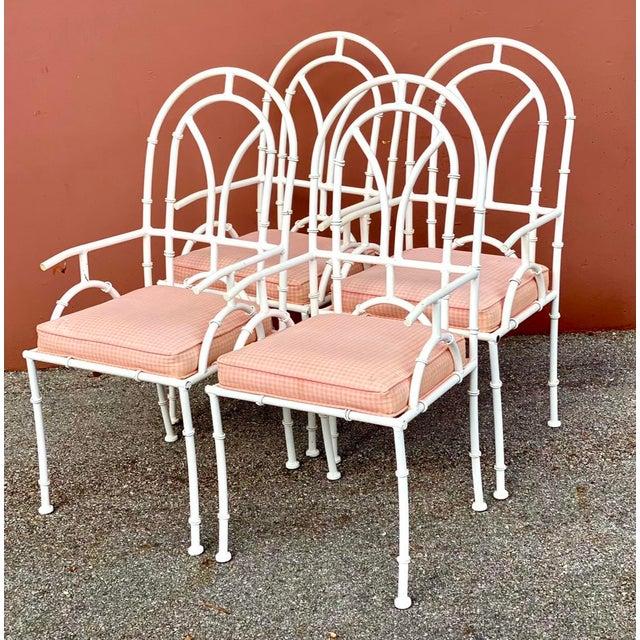 Metal Vintage MCM Kessler Cast Aluminum Dining Chairs - Set of 4 For Sale - Image 7 of 7