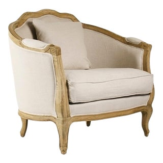 Hollow Maison Love Chair in Beige For Sale