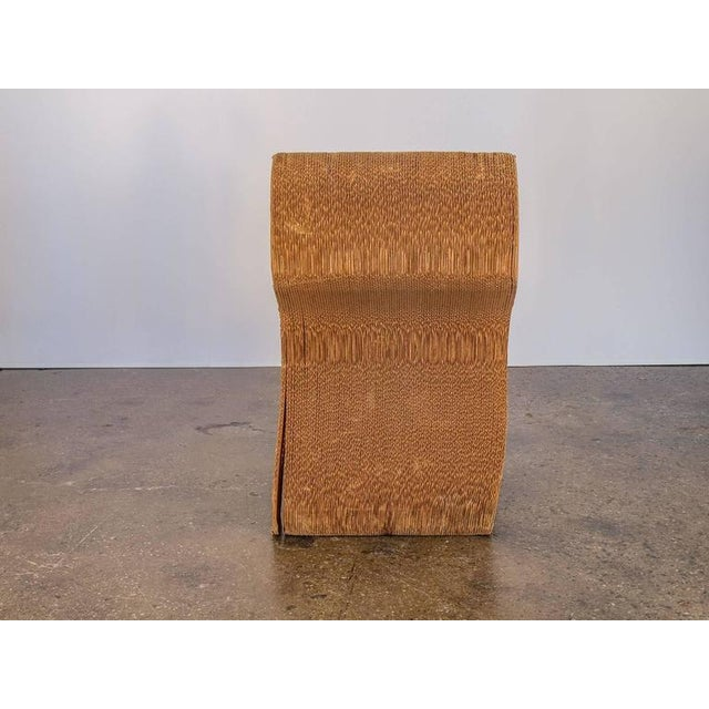 Vintage Corrugated Cardboard Chair For Sale - Image 4 of 9