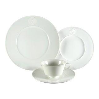 Kpm Arkadia Service for 8 Dinnerware Set - 32 Piece Set For Sale