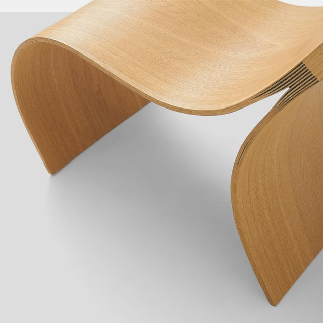 Wood Lounge Chair by Kaspar Hamacher For Sale - Image 7 of 9