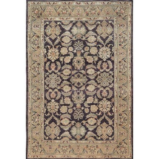 """Mansour Quality Handwoven Agra Rug - 5'10"""" X 8'7"""" For Sale"""