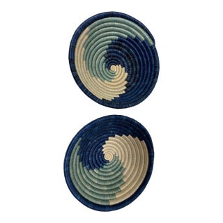African Kazi Bowls - a Pair For Sale
