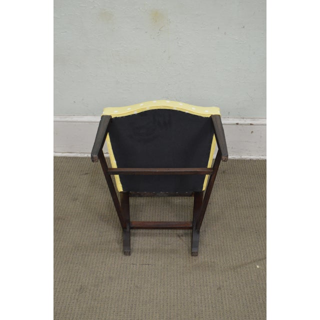 Antique 19th Century Pair of Mahogany Hepplewhite Period Shield Side Chairs For Sale - Image 9 of 12