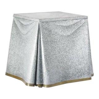 John Dickinson Steel Side Table For Sale