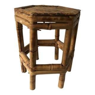 Vintage Bamboo Stand For Sale
