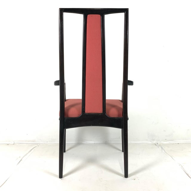Pair ofMahogany Parzinger Style Dining / Occasional Chairs by John Stuart For Sale - Image 10 of 12