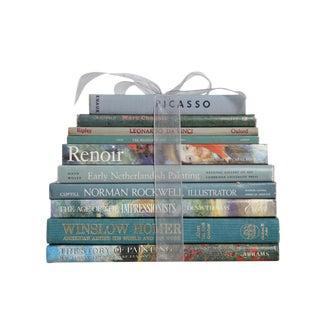 An Ocean of Art & Artists Decorative Book Stack