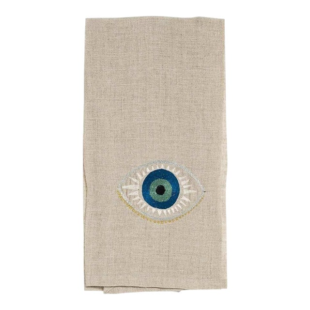Evil Eye Tea Towel For Sale