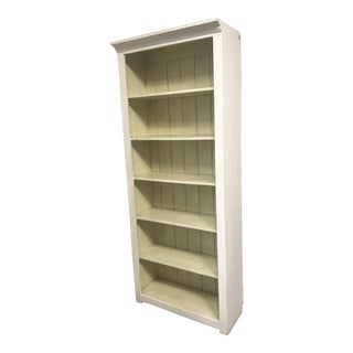 Custom Made Wood Bookshelf