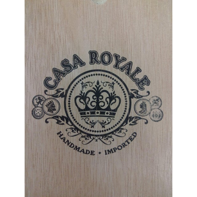 Vintage Cigar Jewelry Box - Image 6 of 10
