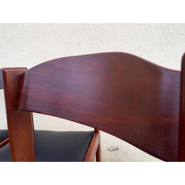 Restored Mid-Century Modern Dining Chairs - 4 - Image 8 of 8