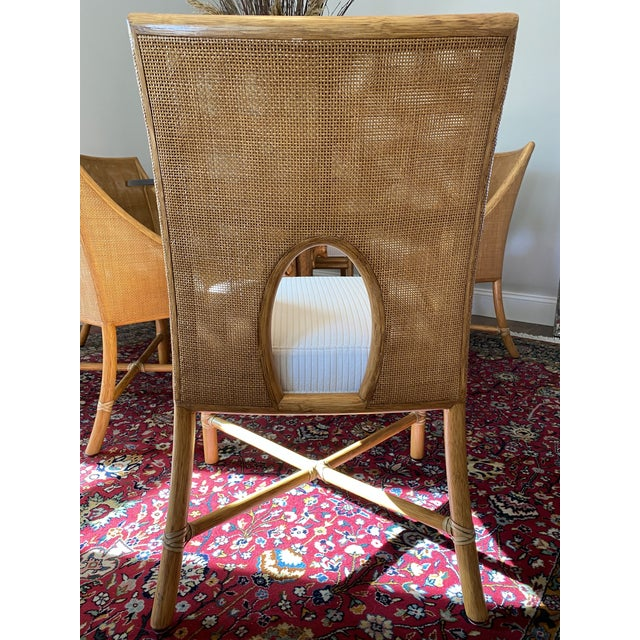 Barbara Barry for McGuire Caned Dining Chair - Set of 5 ...