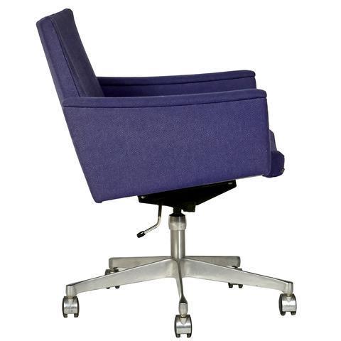 Mid Century Modern 1960s Ring Mekanikk Norway Rolling Desk Chair For Sale    Image 3