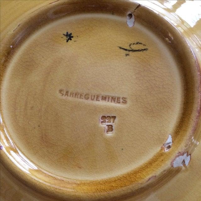 French Sarreguemines Majolica Plates - Set of 5 - Image 8 of 11