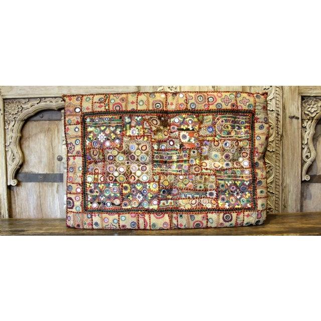 Mid 20th Century Shideh Jaisalmer Floor Cushion For Sale - Image 5 of 5