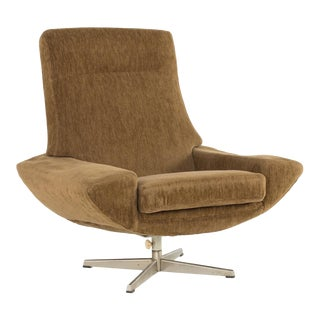 1960s Vintage Johannes Andersen for Trensum Capri High-back Lounge Chair For Sale