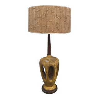 Mid-Century Modern Table Lamp by Plasto Mfg. Co For Sale