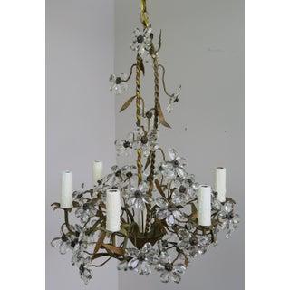 Crystal Flower Basket Six-Light Chandelier Preview