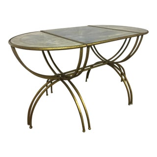 Maison Bagues Tri Part Semi-Globe Coffee Table