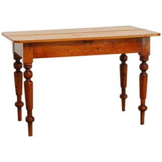 19th Century English Country Farmhouse Dining Table