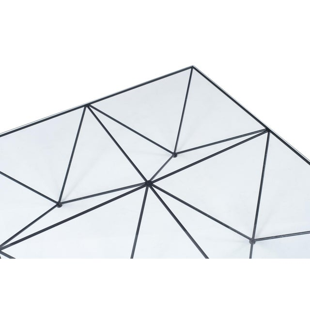 Metal Alanda Square Coffee Table by Paolo Piva for B&b Italia For Sale - Image 7 of 11