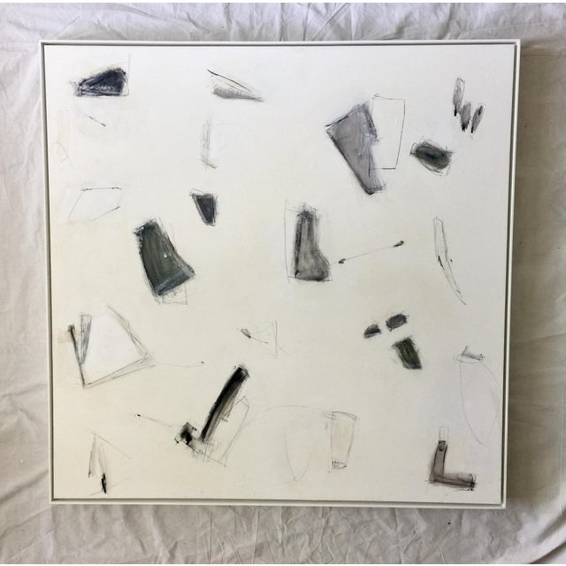 Black Abstract Expressionism Painting #27 For Sale - Image 8 of 8